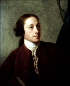 Portait of Horace Walpole